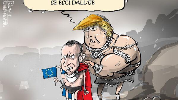 Trump proponeva a Macron di uscire dall'UE - Sputnik Italia