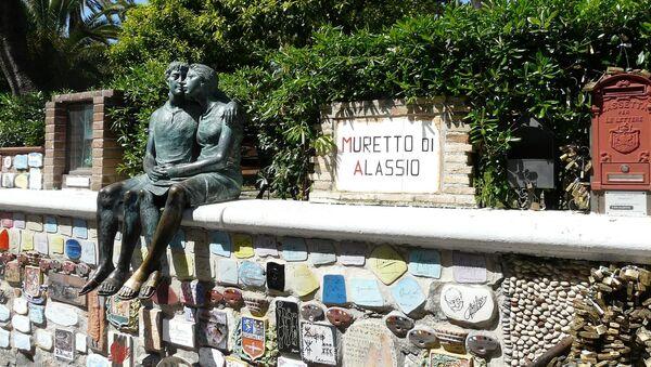 Il celebre Muretto di Alassio - Sputnik Italia