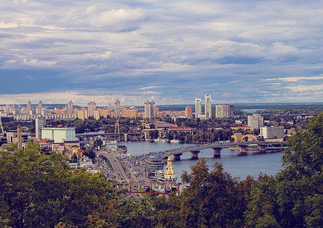 La vista di Kiev