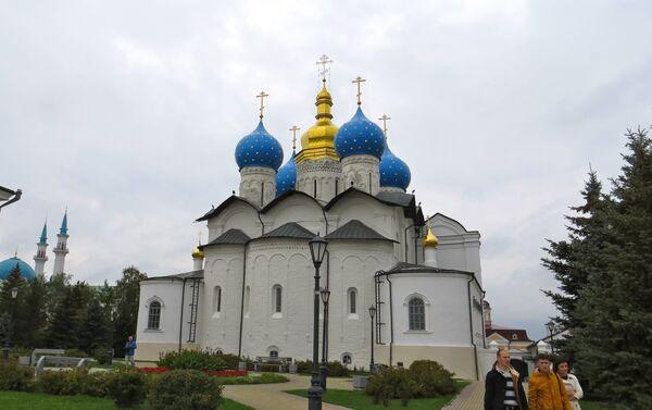 Una delle chiese con le cupole a cipolla fotografata da Giorgio Mutinati - Sputnik Italia