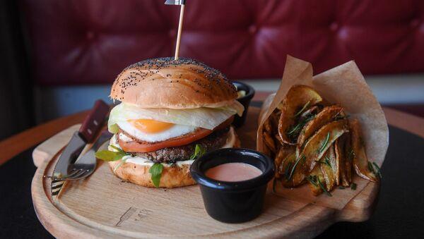 hamburger - Sputnik Italia