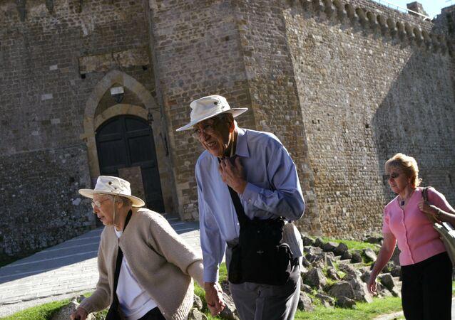 Gli abitanti di Montalcino