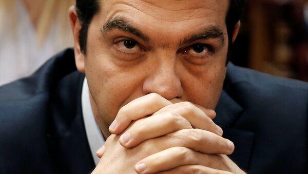Il premier della Grecia Alexis Tsipras - Sputnik Italia