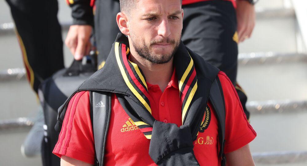 L'attaccante del Belgio e del Napoli Dries Mertens