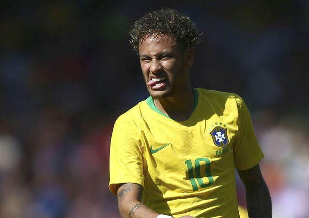 L'uomo simbolo della nazionale brasiliana, Neymar