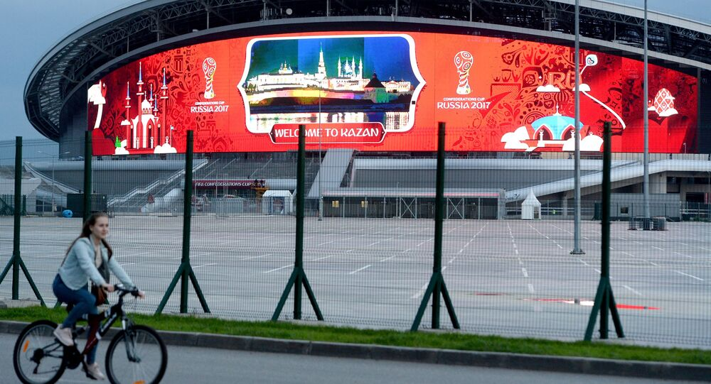 Lo stadio Kazan Arena