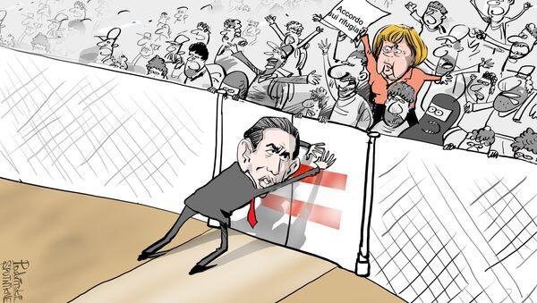 Kurz VS Merkel - Sputnik Italia
