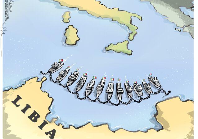 Le navi italiane in Libia