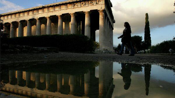 Un tempio a Atene, Grecia - Sputnik Italia
