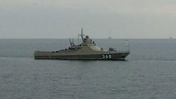 """Pattugliatore della Marina russa """"Vasily Bykov"""" - Sputnik Italia"""