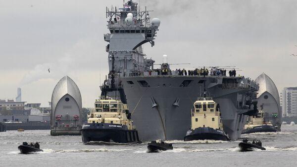 HMS Ocean - Sputnik Italia