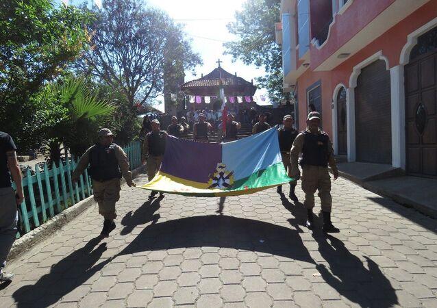 La bandiera di Cherán