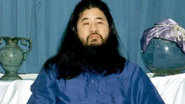 Il leader di Aum Shinrikyō Shōkō Asahara - Sputnik Italia
