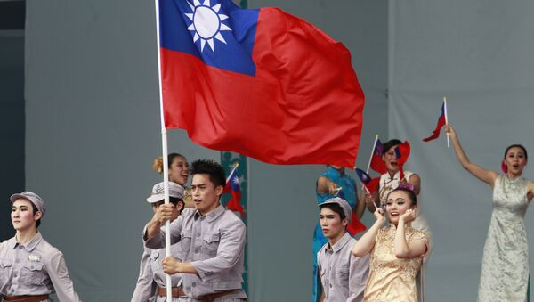 Dancers perform during the inauguration ceremony of Taiwan's President Tsai Ing-wen in Taipei, Taiwan, Friday, May 20, 2016 - Sputnik Italia