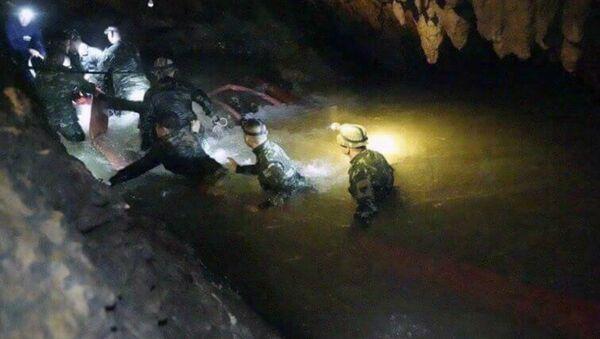Thailandia operazioni soccorso in grotta - Sputnik Italia