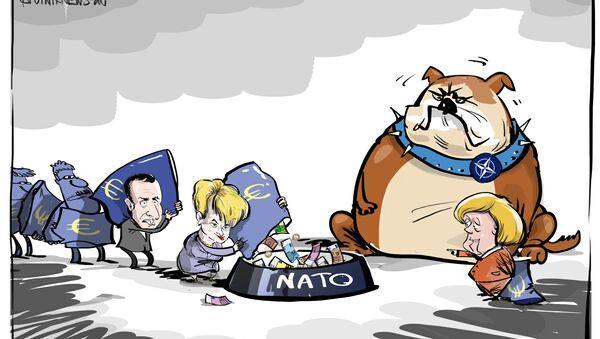 Merkel trova giustificazioni per aumento spese militari NATO - Sputnik Italia