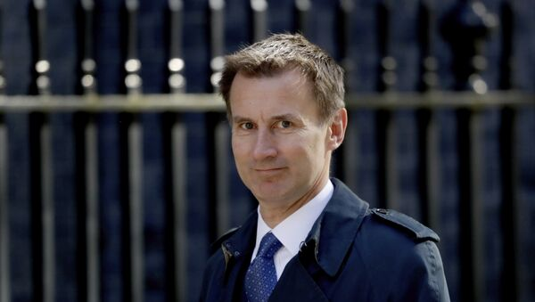 Britain's Health Secretary Jeremy Hunt arrives for a cabinet meeting at 10 Downing Street in London, Tuesday, May 1, 2018.  - Sputnik Italia