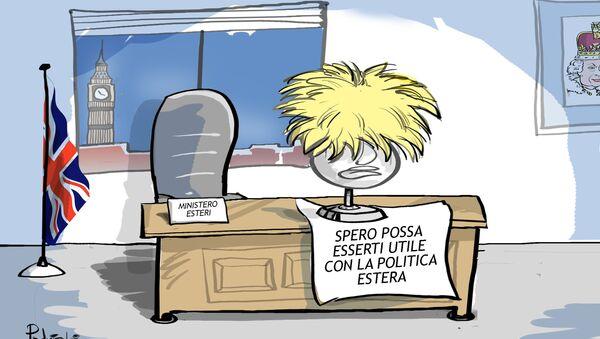 Regno Unito: Ministro esteri Boris Johnson si dimette - Sputnik Italia