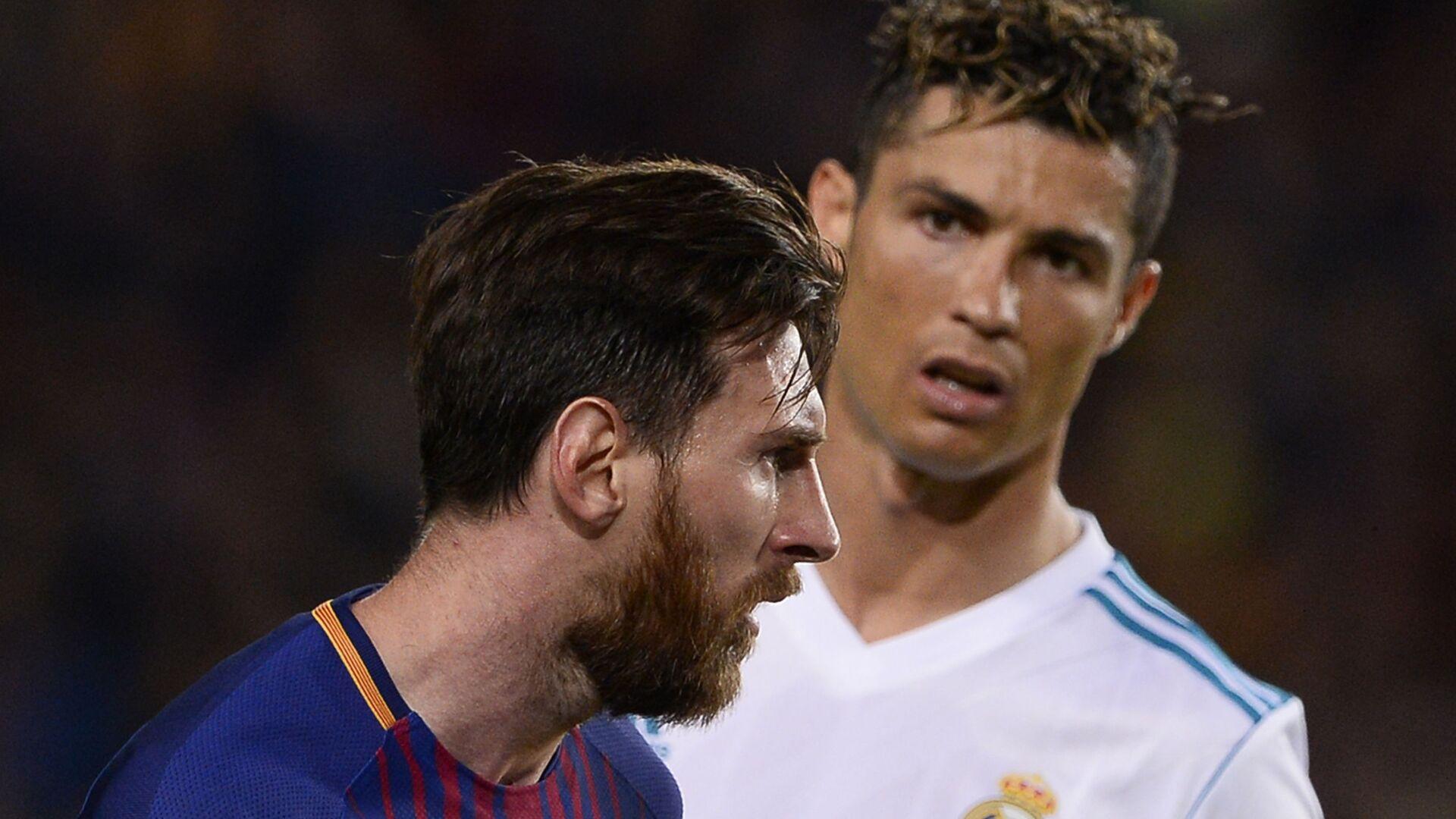Cristiano Ronaldo e Lionel Messi - Sputnik Italia, 1920, 05.09.2021