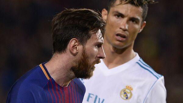 Cristiano Ronaldo e Lionel Messi - Sputnik Italia