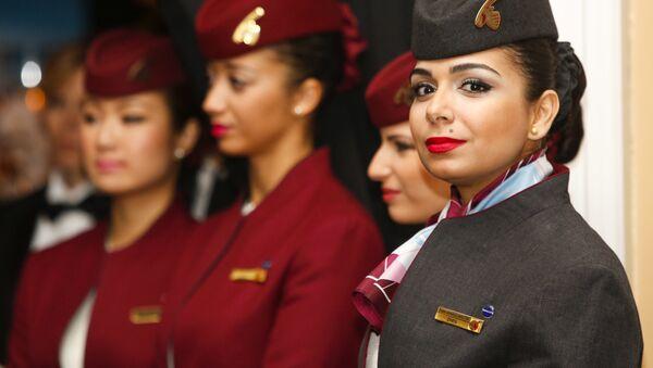 Hostess della Qatar Airways - Sputnik Italia