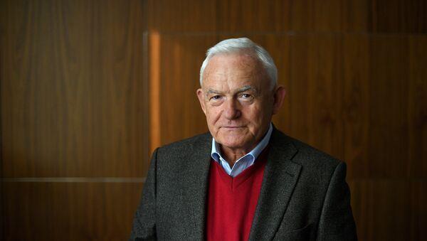 Były premier Polski Leszek Miller. Moskwa, 2017 - Sputnik Italia