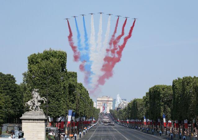 La parata del 14 luglio a Parigi