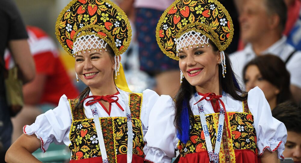 Tifose russe ai Mondiali