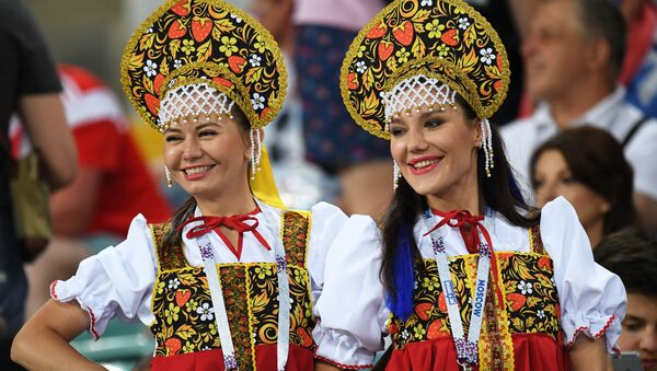 Most Beautiful Female Fans That Made World Cup Shine Even Brighter - Sputnik Italia