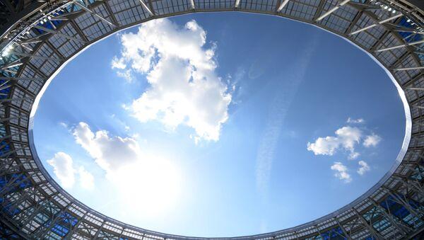 Il cielo sopra lo stadio di Nizhny Novgorod - Sputnik Italia