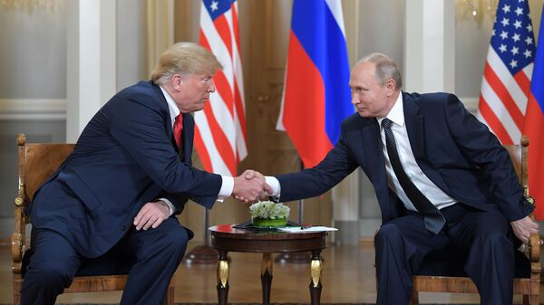 L'incontro tra Putin e Trump a Helsinki - Sputnik Italia