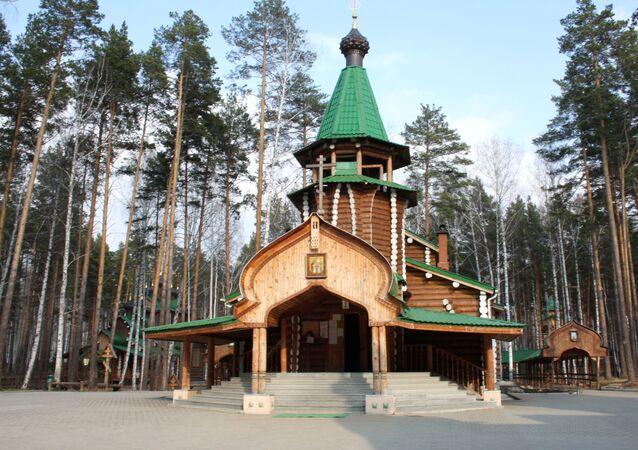 La chiesa e l'annesso monastero maschile nel nome dei Martiri imperiali