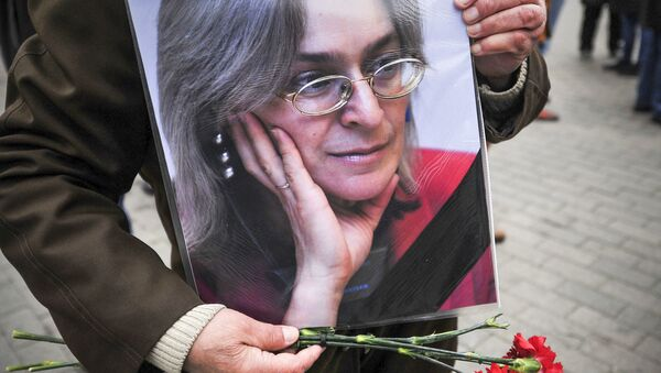 Anna Politkovskaya - Sputnik Italia