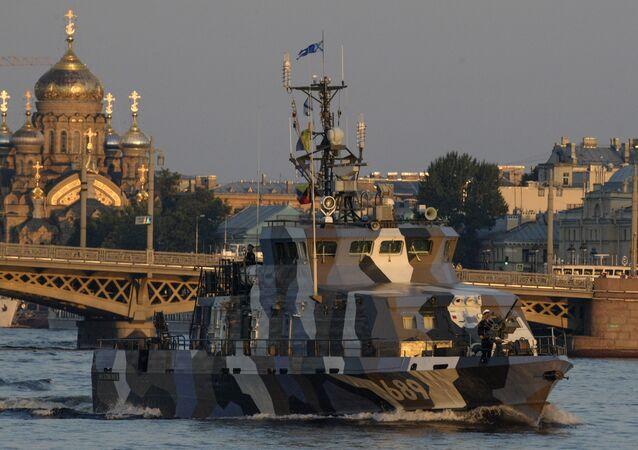 La nave da pattugliamento Nakhimovets