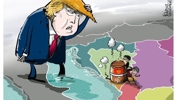 Trump e Montenegro - Sputnik Italia