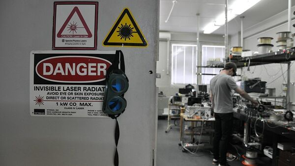 Il centro di ricerca sulle fibre ottiche di Mosca dell'Accademia Russa delle Scienze - Sputnik Italia