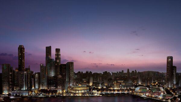 L'alberga Marina Bay Sands a Singapore - Sputnik Italia