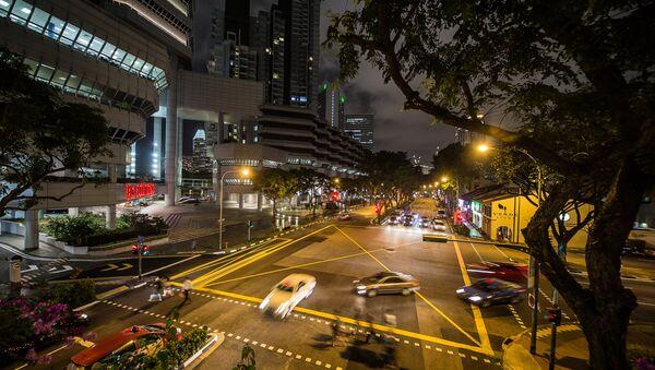 Un incrocio di Singapore - Sputnik Italia
