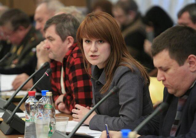 Attivista russa Maria Butina