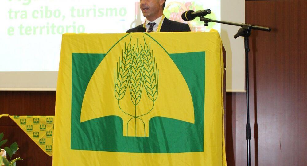 Ettore Prandini, presidente Coldiretti Lombardia, vice presidente nazionale della Coldiretti