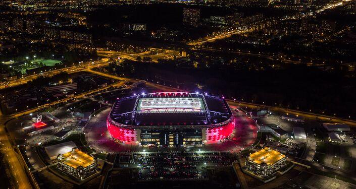 Lo stadio Spartak a Mosca