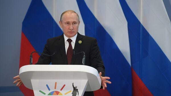 Vladimir Putin al summit dei BRICS - Sputnik Italia