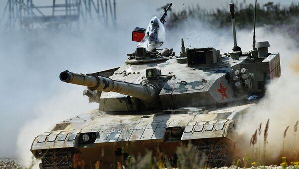 Un carro armato cinese ai Giochi militari al poligono Alabino (foto d'archivio) - Sputnik Italia