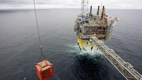 Una piattaforma di gas nel mare della Norvegia. - Sputnik Italia