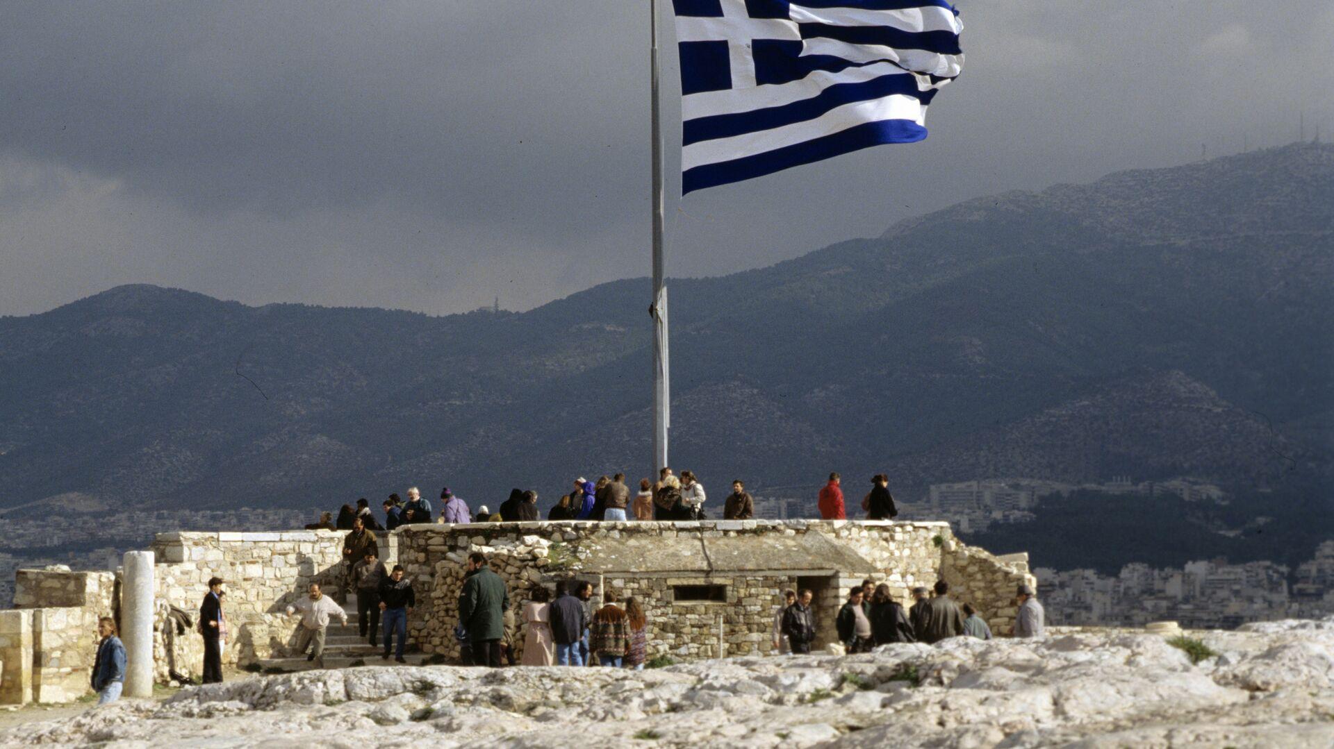 bandiera della Grecia - Sputnik Italia, 1920, 15.07.2021