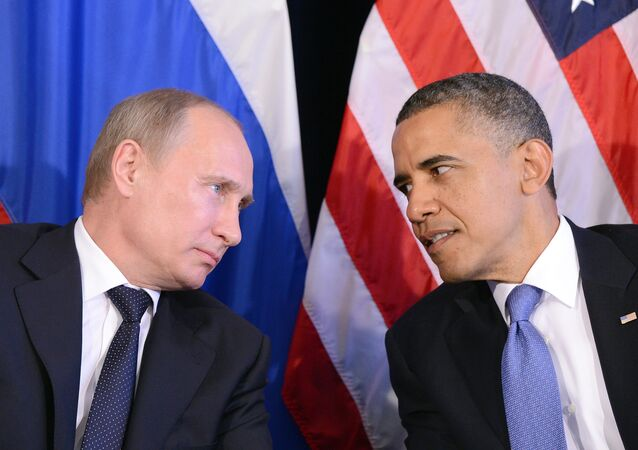 Vladimir Putin e Barack Obama