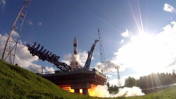 Lancio del razzo portante Soyuz 2.1 con vettore spaziale dal cosmodromo di Plesetsk - Sputnik Italia