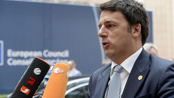 Matteo Renzi - Sputnik Italia