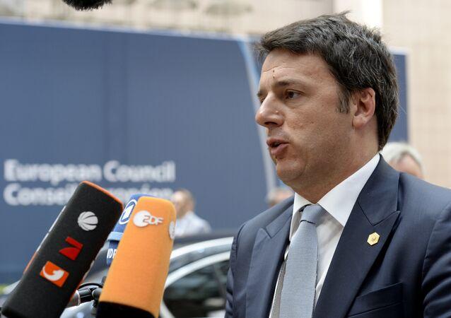 Il primo ministro italiano Matteo Renzi  è il primo leader dell'occidente a visitare Israele dopo l'accordo sul nucleare raggiunto con l'Iran.
