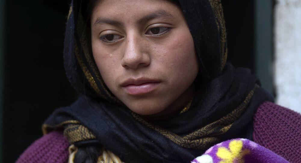 Donna musulmana del Chiapas
